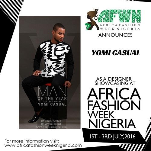 Yomi Casual To Showcase At Africa Fashion Week Nigeria Afwn 2016 Mr Koachman