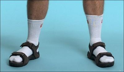 Blue dress socks rules