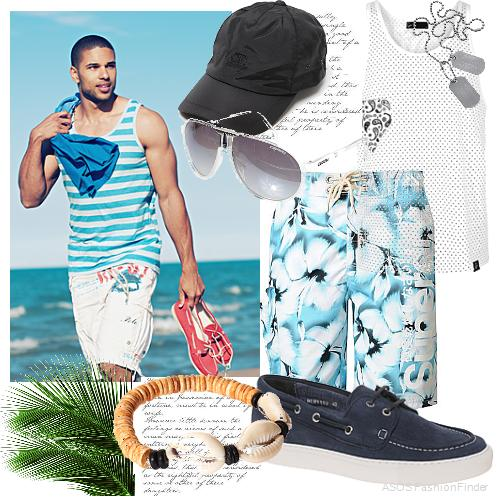 9345bd8d17 MEN'S BEACH STYLE | What To Wear To The Beach Or A Pool Party -