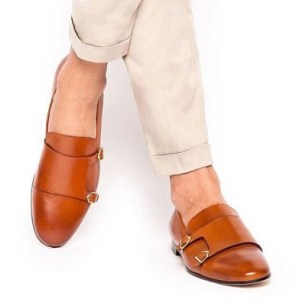 Double Monk Strap Loafers
