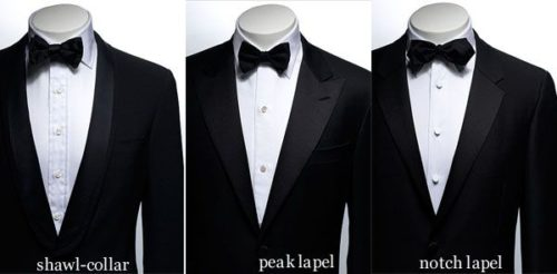 tuxedo and suit difference