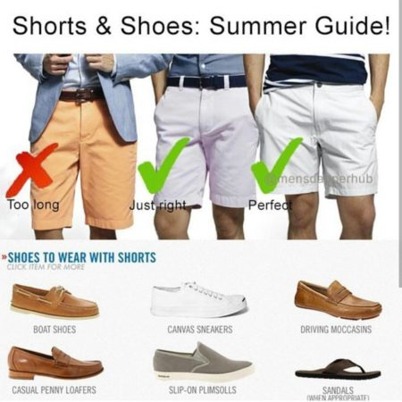 mens summer shoes to wear with shorts