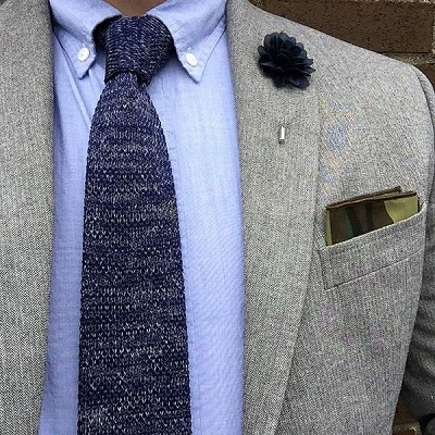 knit tie guide