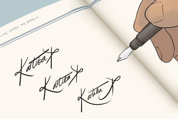 the importance of a powerful and beautiful signature