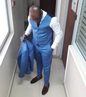 three piece suit mr koachman