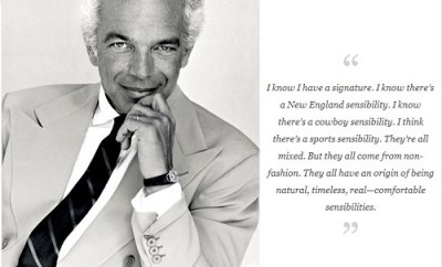 Ralph Lauren Quotes Mr Koachman