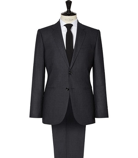 The Charcoal Gray Suit