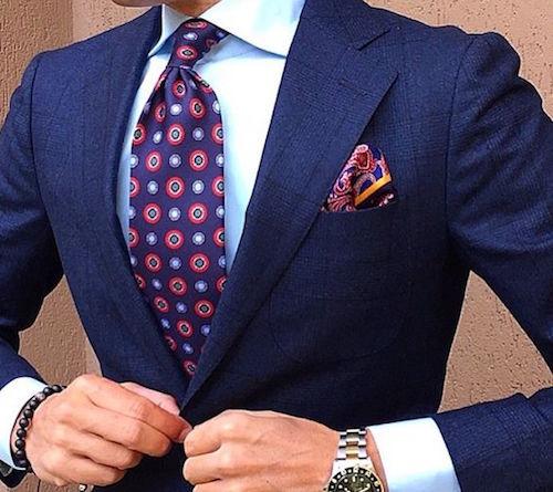 Navy Blue Suit Mr Koachman