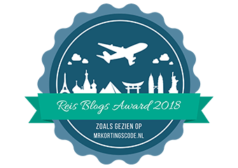Banners voor Reis Blogs Award 2018