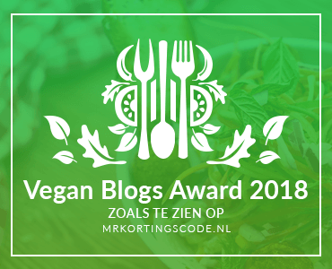Banners voor Vegan Blogs Award 2018