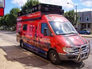 Chicago Bulls Benny the Bull Van - Mr Kustom
