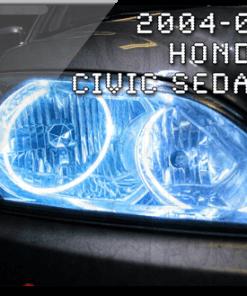 2004-'05 Honda Civic Sedan ORACLE Halo Kit