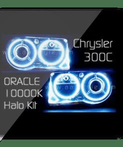 Chrysler 300C SRT 8 White ORACLE Halo Kit