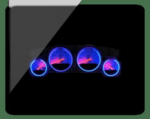 Dodge Gauge Cluster Halo Kit