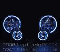 Jeep Liberty Oracle Halo Headlight Kit