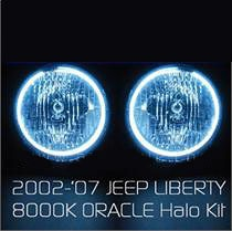 Jeep Liberty Halo Headlights