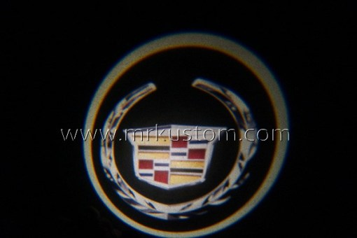 Cadillac LED Courtesy Logo Projector Lights