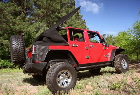 Jeep Powered Soft Top