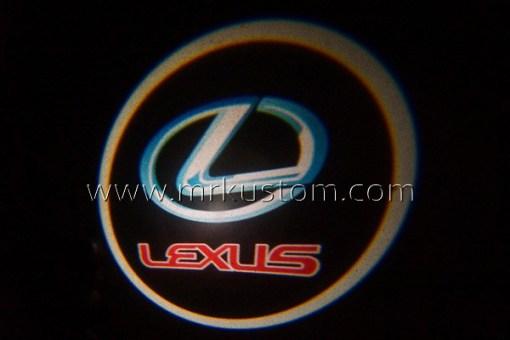 Lexus LED Courtesy Logo Projector Lights
