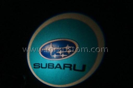 Subaru LED Courtesy Logo Projector Lights