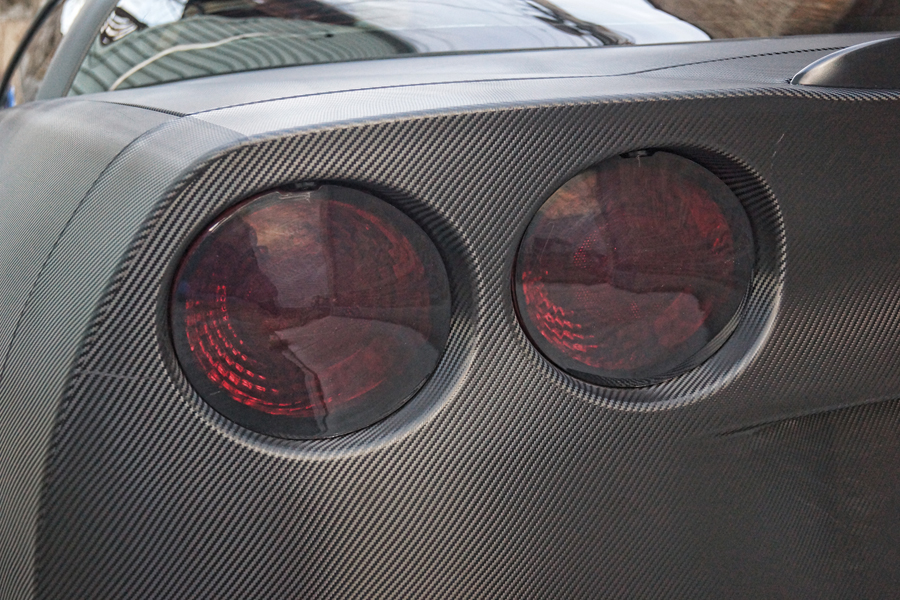 2007 Corvette ZO6 Smoked Tail Lights