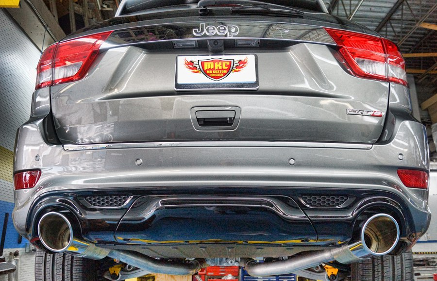 2012 Jeep Grand Cherokee SRT8 Borla Exhaust