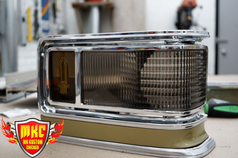 1975 Cadillac Deville Smoked Headlights