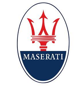 Maserati LED Logo Door Projector Light