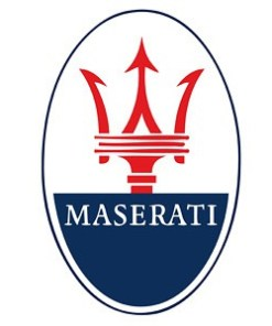 Maserati LED Logo Door Projector Light