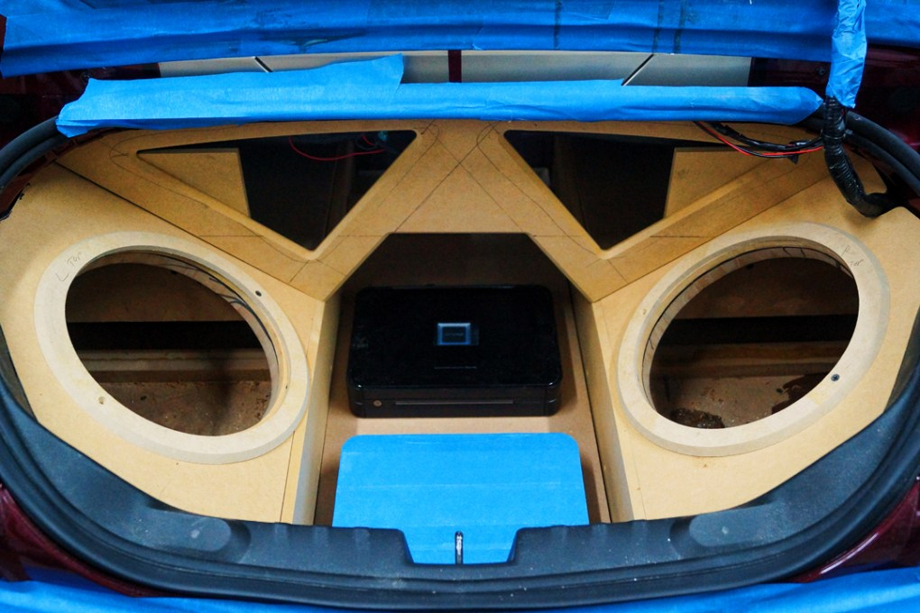 2011 Camaro SS Custom Sub Enclosure Box Build