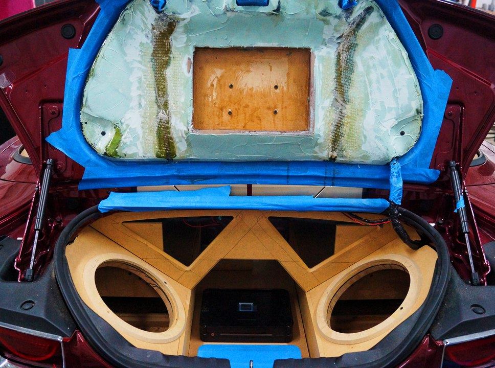 2011 Camaro SS Custom Sub Enclosure