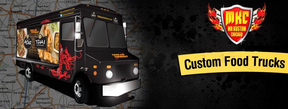 Custom Food Trucks Mr Kustom