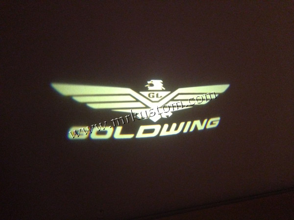 Honda Goldwing LED Door Projector Courtesy Puddle Logo Lights