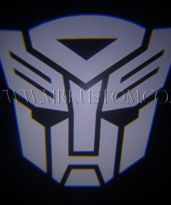 Autobot Transformers LED Door Projector Courtesy Puddle Logo Lights