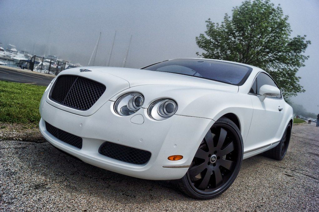 Bentley Matte White