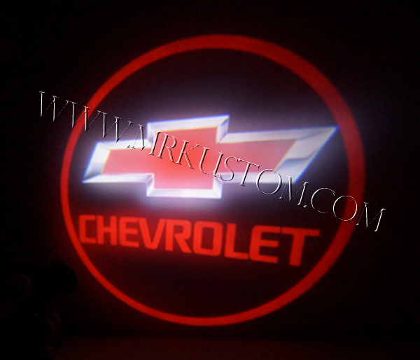 Chevy LED Door Projector Courtesy Puddle Logo Lights