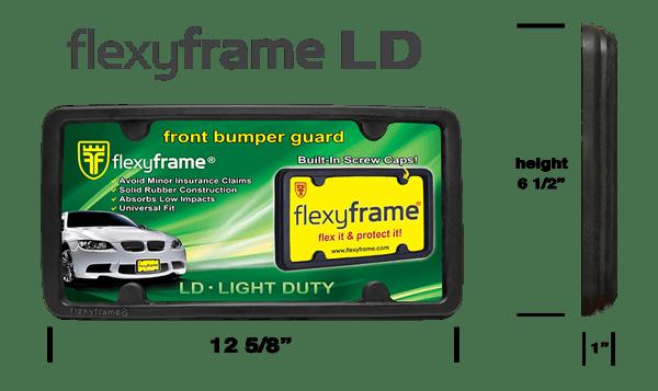 Rubber License Plate Frame