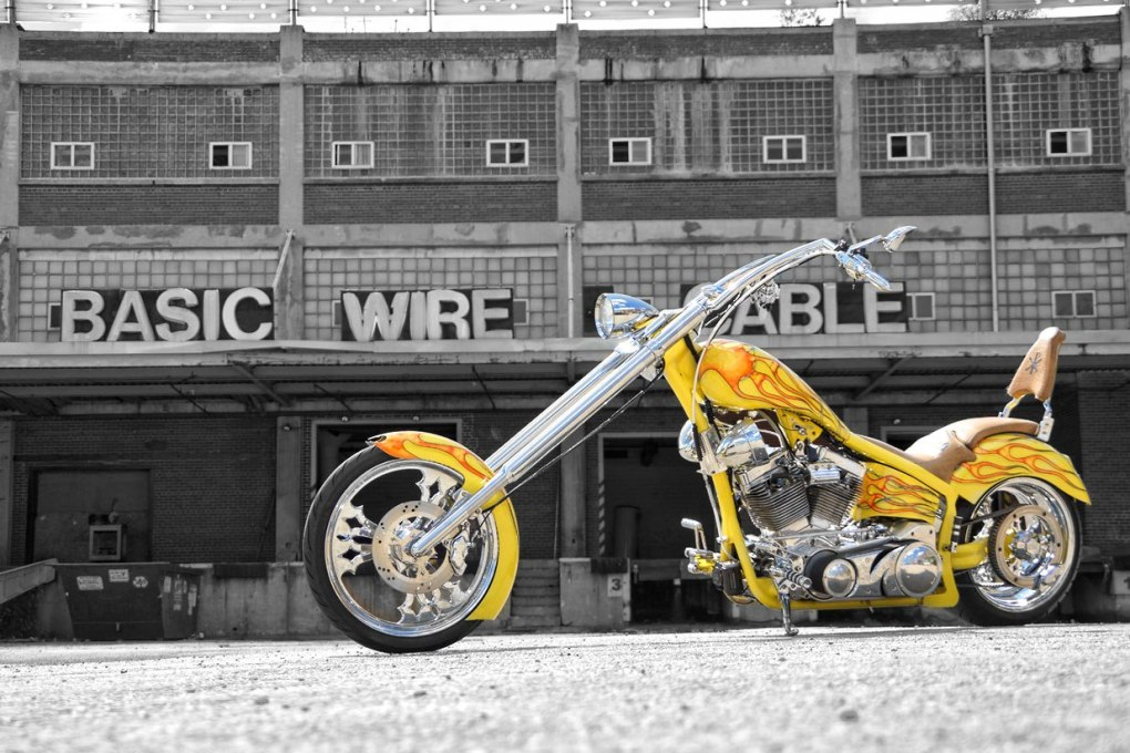 Custom Chopper Stretched