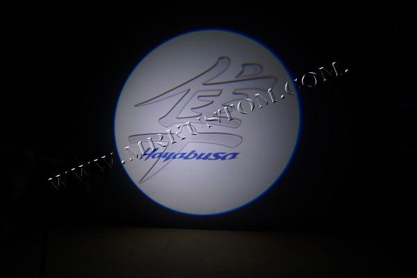 Hayabusa Motorcycle LED Door Projector Courtesy Puddle Logo Light