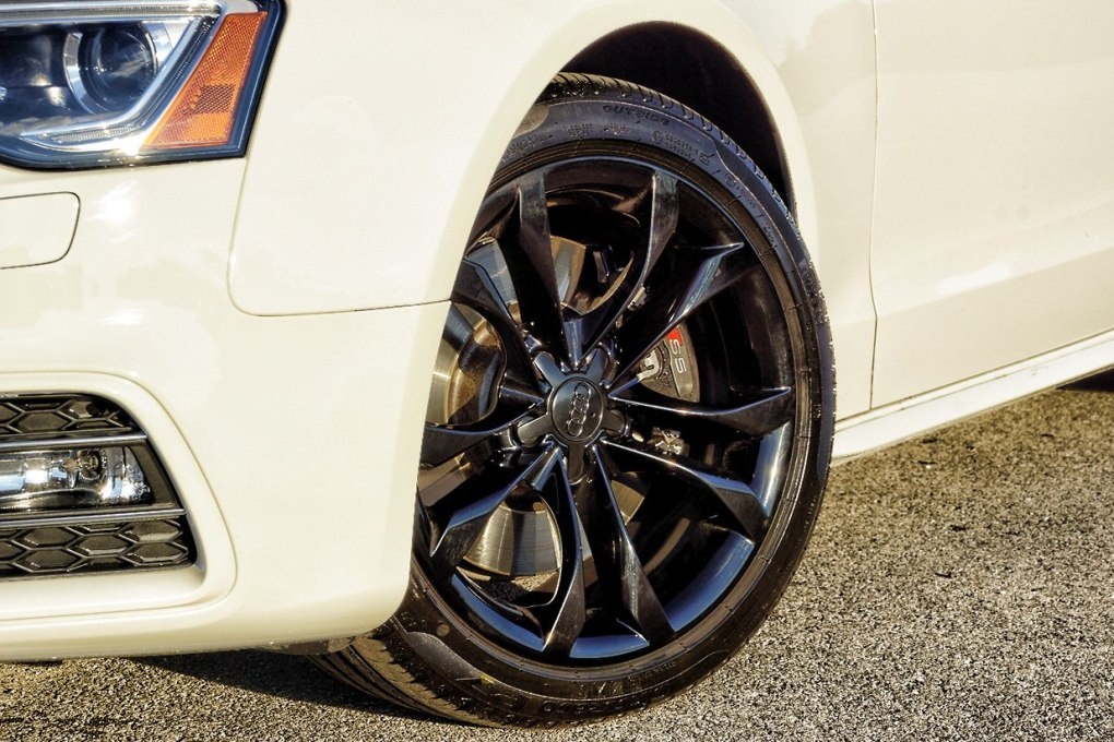 Audi Blacked Out Wheels