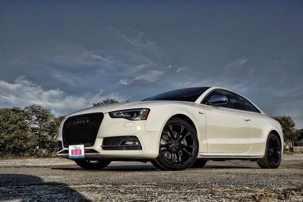 Powder Coating Audi Grille & Wheels