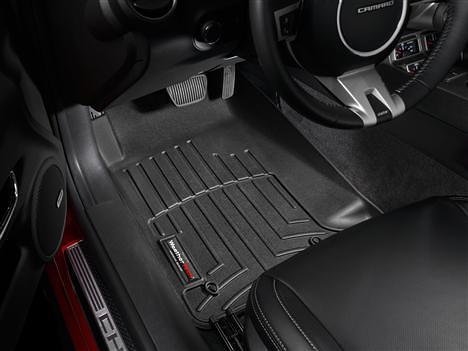 Chevy Camaro WeatherTech DigitalFit Floor Mats Black