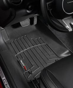 Chevy Camaro WeatherTech DigitalFit Floor Mats Black