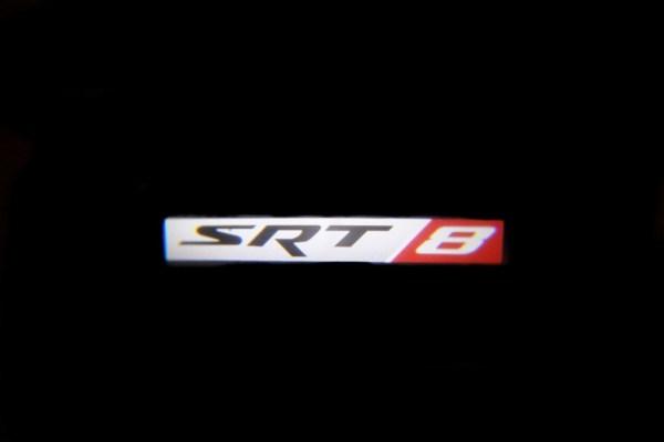 SRT8 Badge LED Door Projector Courtesy Puddle Logo Light