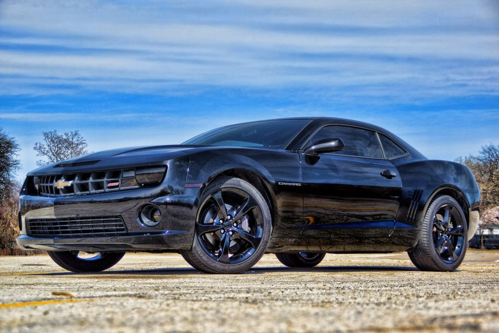 Camaro SS Blacked Out