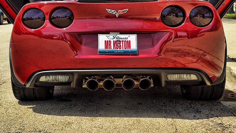Corvette Grand Sport Corsa Exhaust
