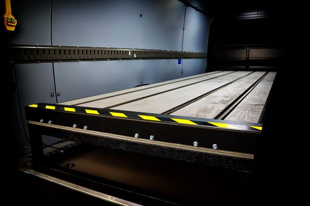 Mercedes Sprinter Pallet Loading System