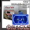 Pre-Installed Blue Halo Lights Sealed Beam 4x6