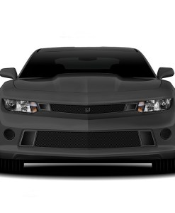 GT Strada Lower bumper grille for 2014-2015 Chevrolet Camaro fits V6 models (Matte black finish)