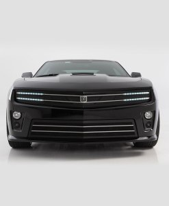 Hawkeye Lower bumper grille for 2010-2013 Chevrolet Camaro fits V8 models (Matte black finish)